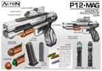 Commission: ALTON Armaments P-12MAG 2