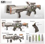 Commission: Railgun Rifle