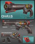 Commission: Dartgun Concept