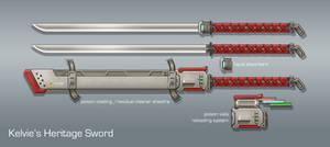 Commission: Kelvie's Heritage Sword