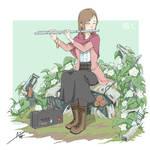 Flute Girl