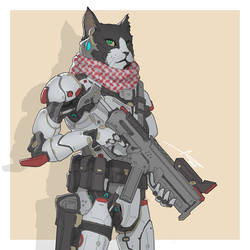 Mecha Animals : Cat by aiyeahhs