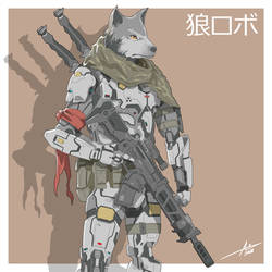 Mecha Animals : Wolf by aiyeahhs