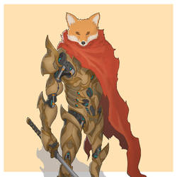 Mecha Animals : Fox by aiyeahhs