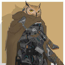 Mecha Animals : Owl by aiyeahhs