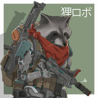 Tanuki01 by aiyeahhs