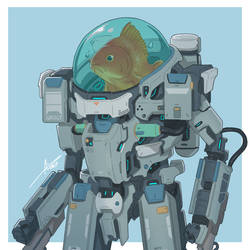Mecha Animals : Fish