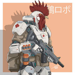 Mecha Animals : Rooster by aiyeahhs