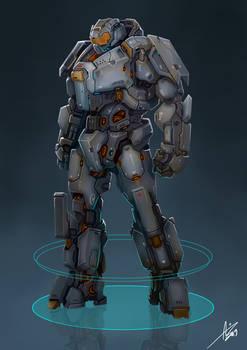 Commission: Heavy Powerarmor