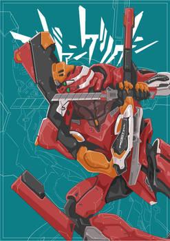 Commission: EVA-02 Custom
