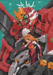 Commission: Asuka EVA Unit 02