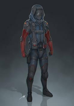 Commission: Tactical Suit