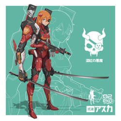 Asuka - CRIMSON DEMON