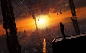 Eternal Sunset [double cityscape]
