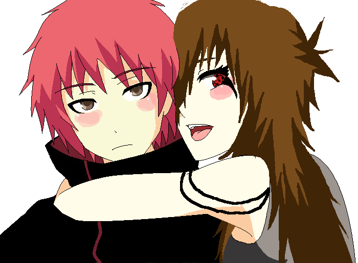 the gallery for gt sasori x oc base