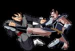 Turles vs Goku Black