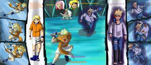 Shinachik vs Koyuki-Naruto OCT by InstaQuarius