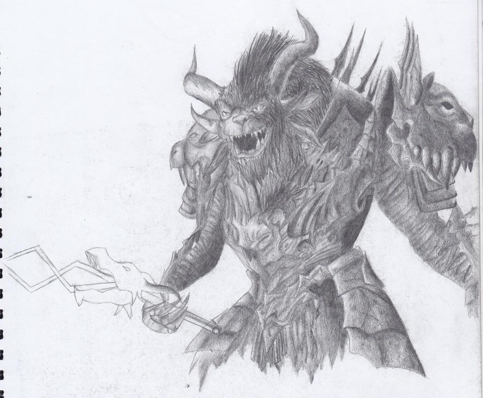 Guild Wars 2: Rytlock Brimstone the Tribune by CeltraBlake