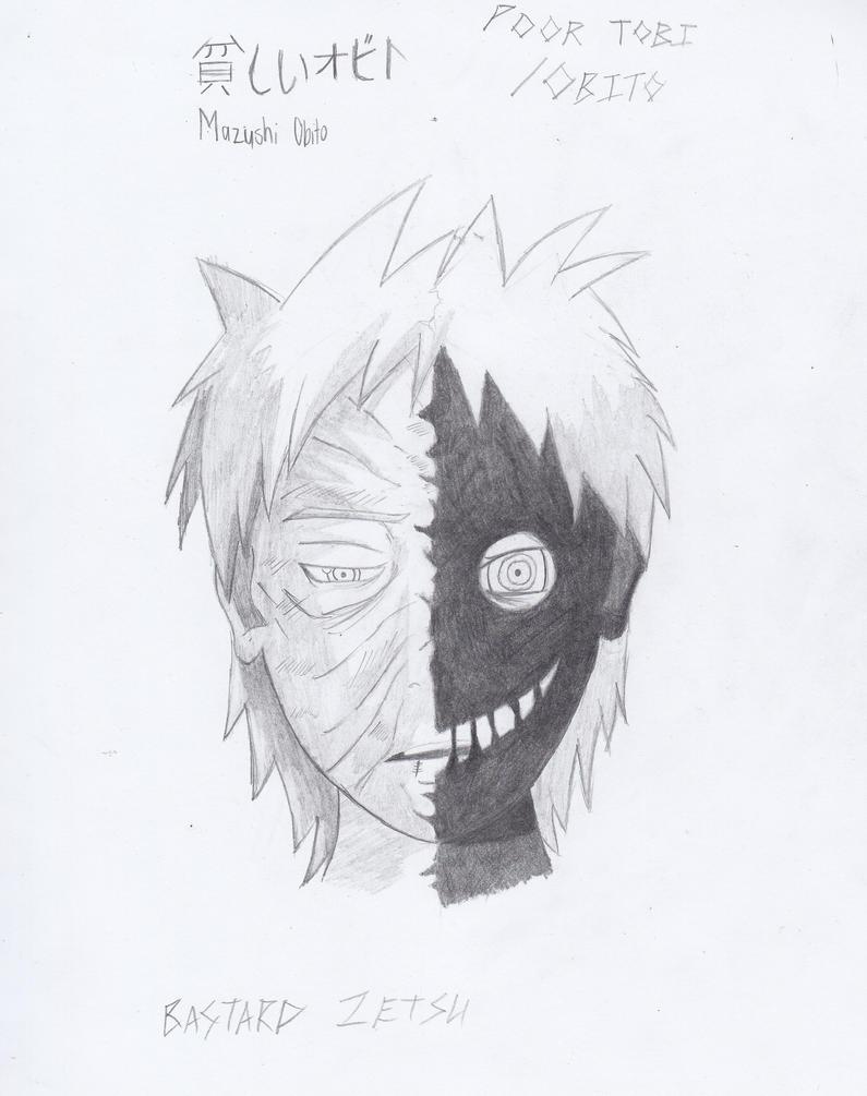 Naruto: Obito and Black Zetsu by CeltraBlake