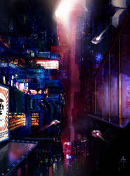 Cityscape by M0nkeyBread