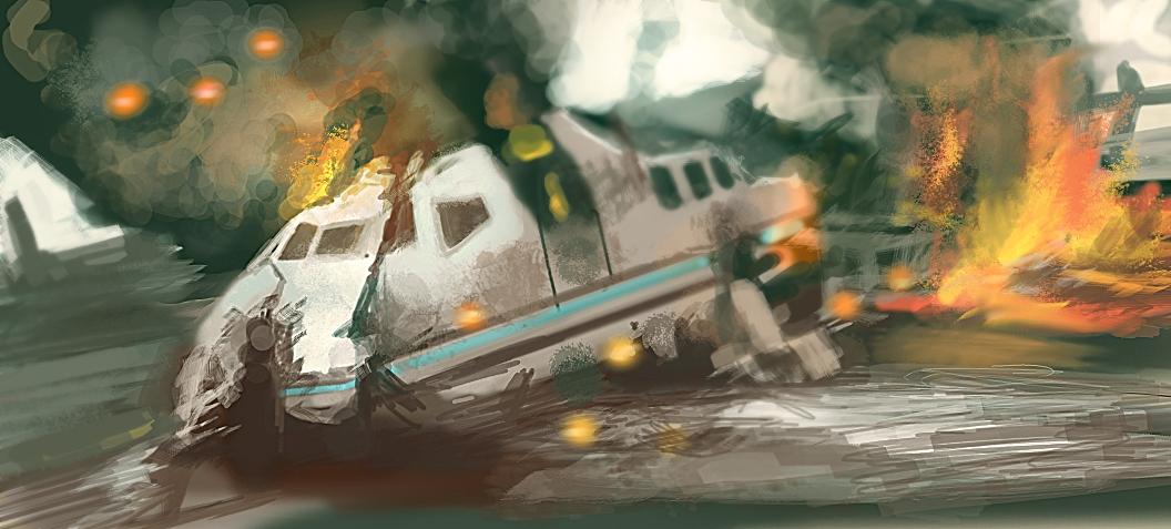 CW Speedy: Man Made Disaster by M0nkeyBread on DeviantArt