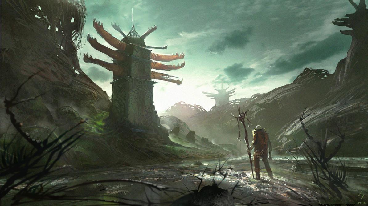 The Pagoda by M0nkeyBread
