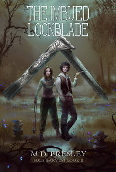 Commission: The Imbued Lockblade Cover