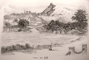 Sketch : Titahi Bay by M0nkeyBread