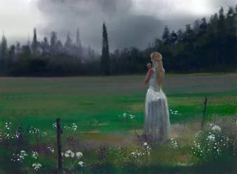 Study: Meadow by M0nkeyBread