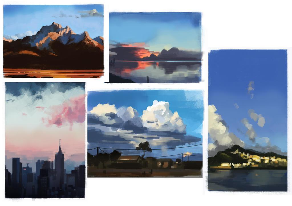 Skystudies by Cruelus