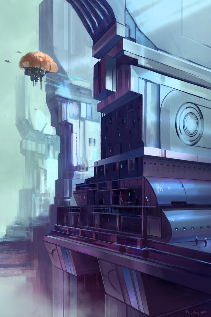 SkyStation by Cruelus