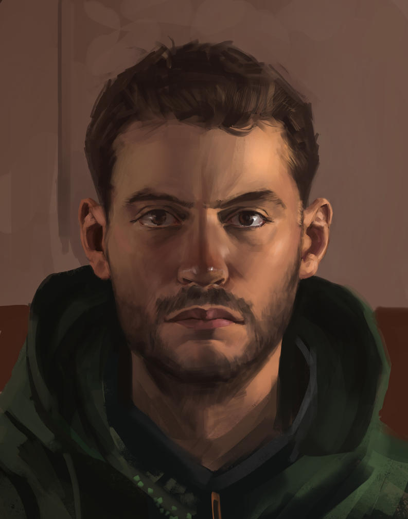 Self Portrait by Cruelus