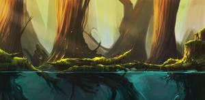 Ori fanart by Cruelus