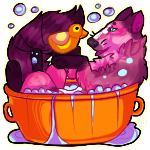 Bath time :3 by karby-licious