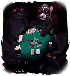 Playing poker with the demons by karby-licious