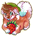 Strawberry shortcake :3 by karby-licious