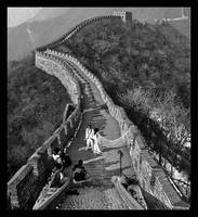 Great Wall Wedding by WELL-PICT
