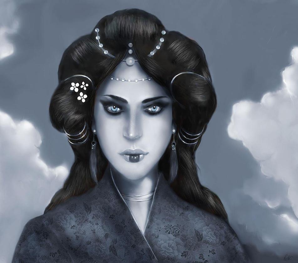 Queen of Zenobia - Desaturated by nofx