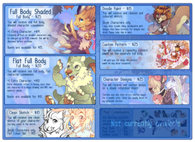 Plumbeck Commission Sheet [CLOSED] by Plumbeck