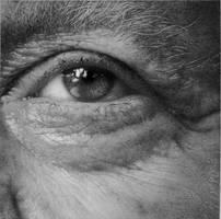 Eye study in pencil