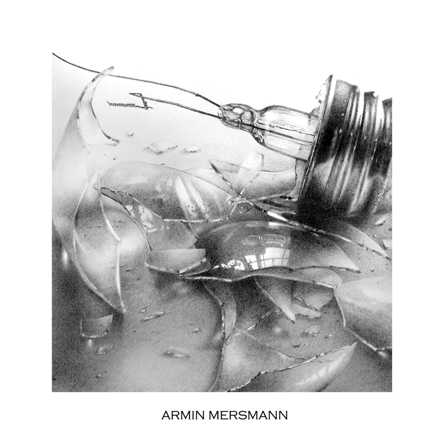 Shattered I,  drawing by arminmersmann