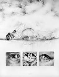 Fragile _ pencil drawing