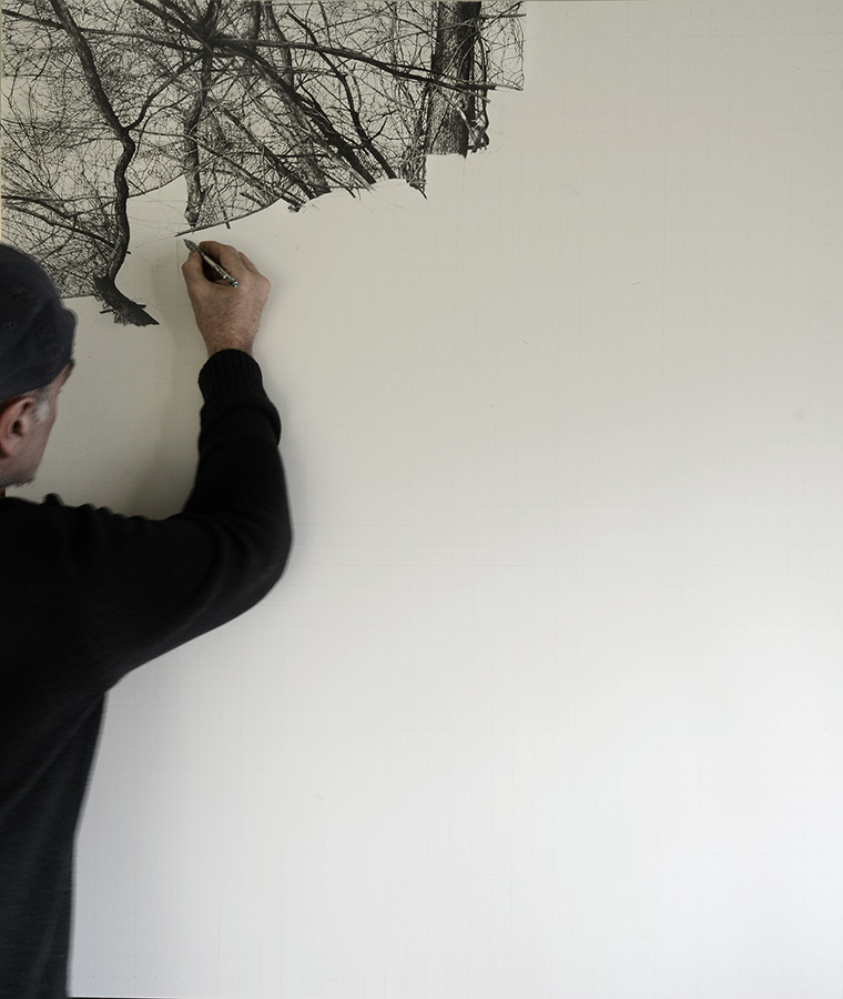 Winter Trees IX WIP2 by arminmersmann