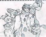 Fan Art - The Flintstones