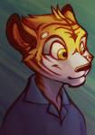 Digital Practice - Tiger Boy