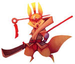 Digital Practice - Kitsune Guard