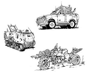 More Vehicles by muzzoid