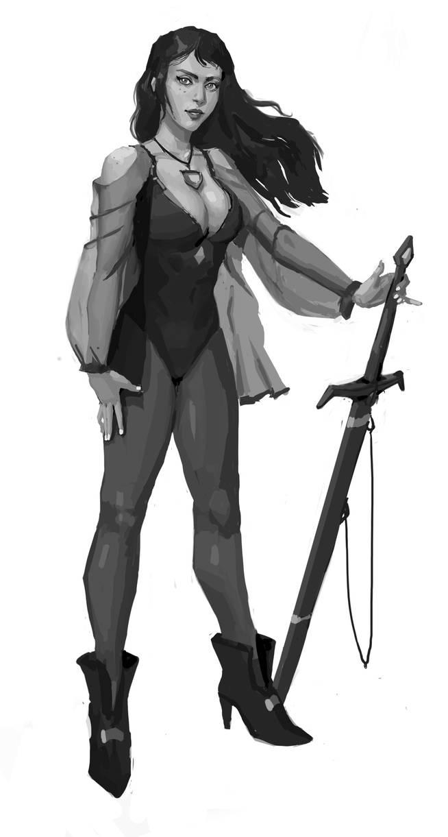 Sword girl redux