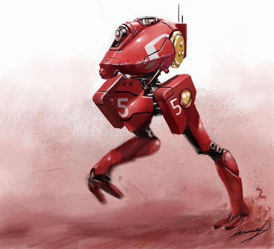 RACING MECH by muzzoid