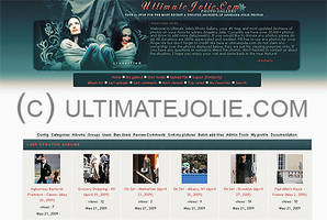 Angelina Jolie Coppermine by toxicdesire